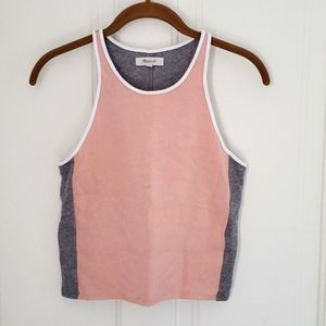 Madewell Colorblocked Cropped Tank